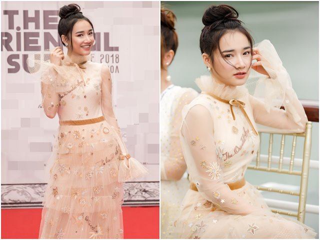 Nhã Phương lộng lẫy dự show Lê Thanh Hòa trên du thuyền
