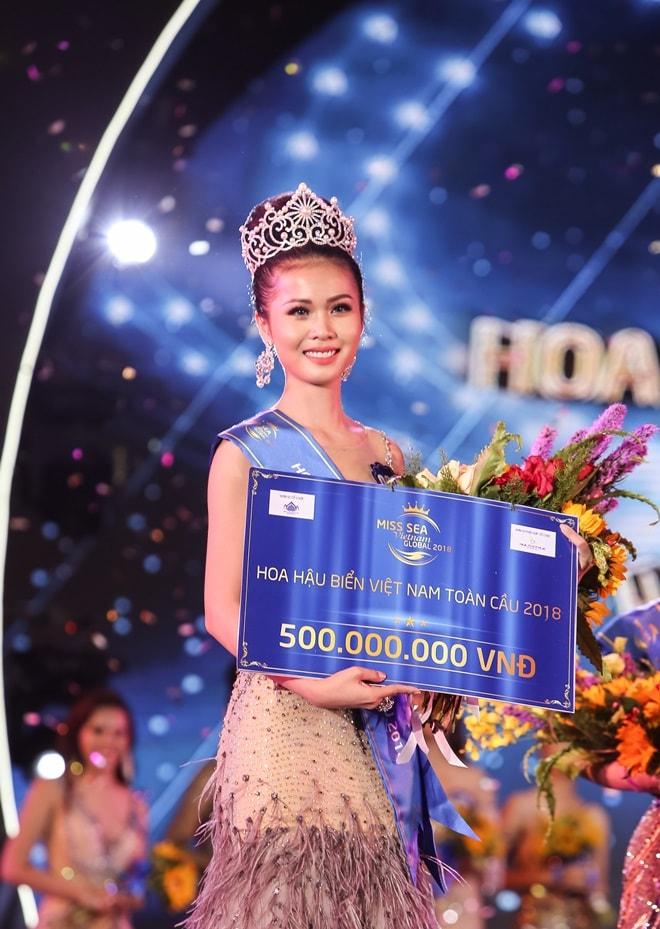 Tranh cãi nhan sắc tân Hoa hậu Biển không bằng thí sinh top 15 - 1