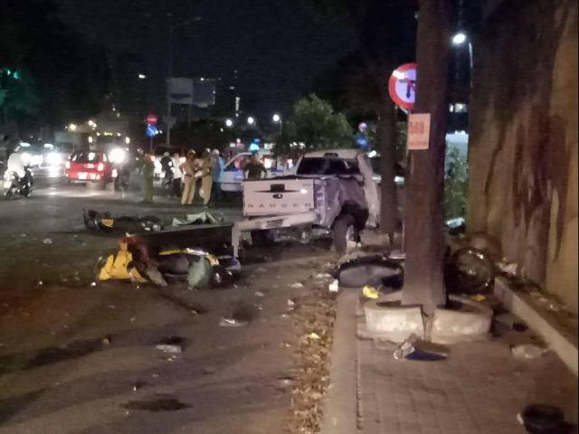 """Vụ """"ô tô điên"""" gây tai nạn ở TP.HCM: Tài xế sử dụng rượu bia"""