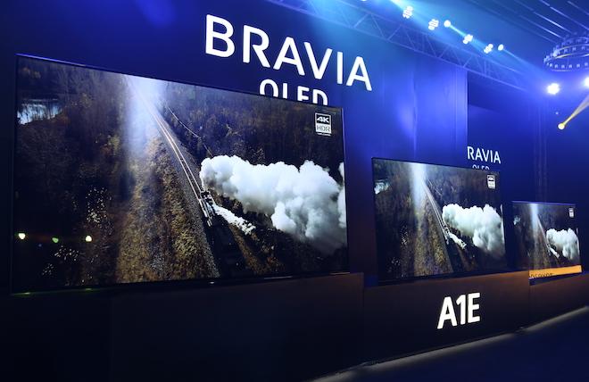 """Sony giới thiệu TV OLED A8F đi kèm công nghệ âm thanh """"kịch độc"""" - 1"""