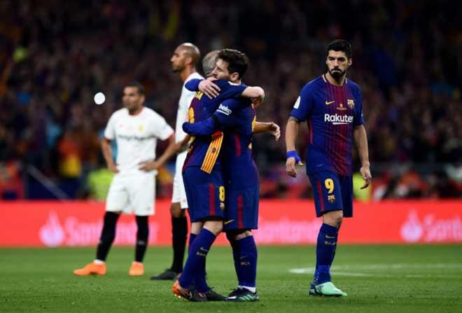 """Messi - Barca giành cúp nhà Vua: Đại kình địch Ronaldo """"chế giễu"""" - 1"""