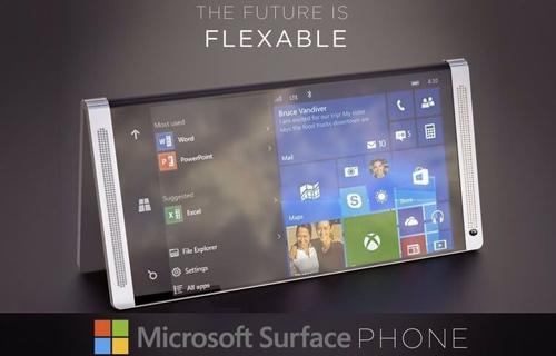 Microsoft sắp tung điện thoại Surface Phone với hai màn hình cực đẹp - 1