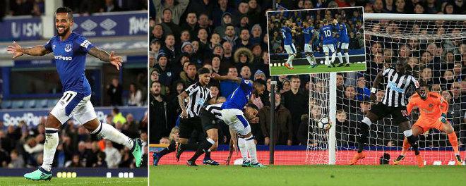Everton – Newcastle: Rooney lu mờ, rực sáng cựu sao Arsenal - 1