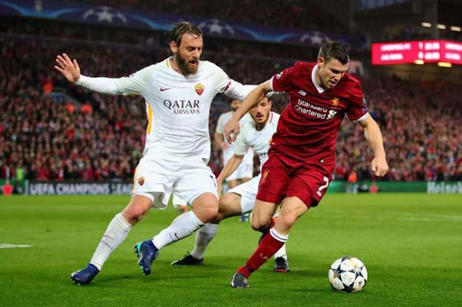 """Tin nóng bán kết cúp C1: Thủ quân Roma cáo buộc Liverpool """"xấu xí"""" - 1"""