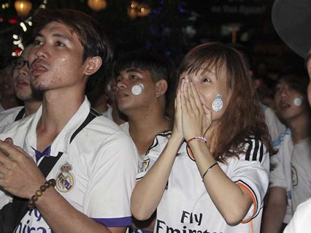 Ronaldo đưa bóng vào lưới, fan Real ở VN dậy sóng định ăn mừng