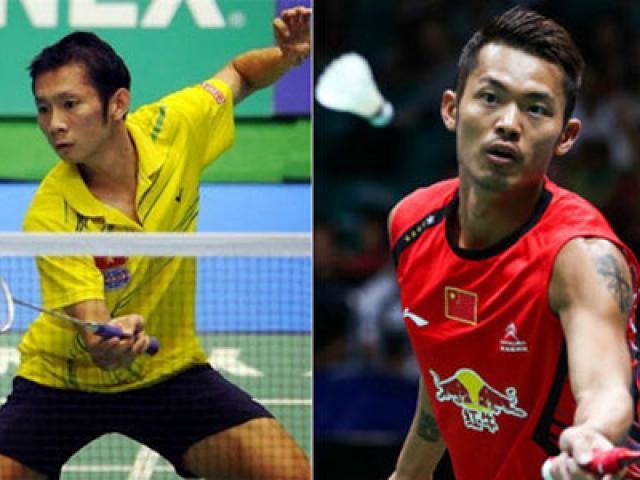 """Cầu lông số 1 châu Á: Tiến Minh, Lin Dan tạo cú sốc ngay """"vòng gửi xe"""""""