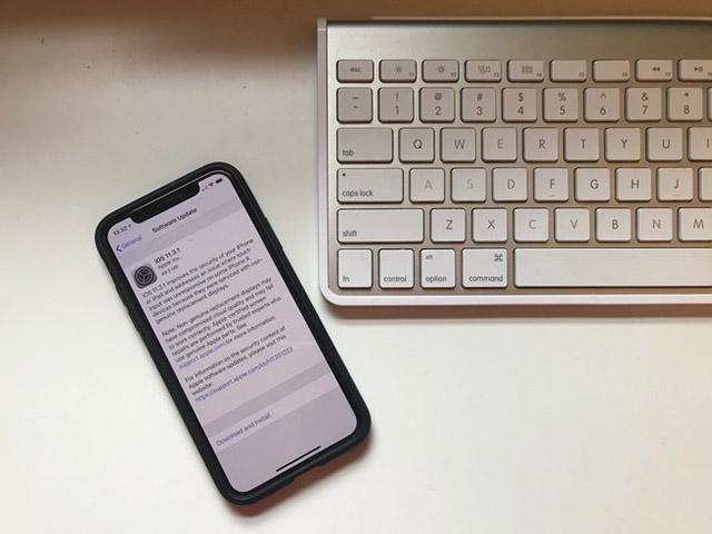 Đã có iOS 11.3.1, chữa lỗi khiến nhiều iPhone 8 bị tê liệt