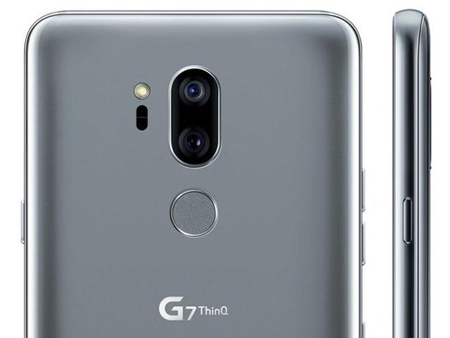 LG G7 ThinQ lộ thiết kế sang chảnh