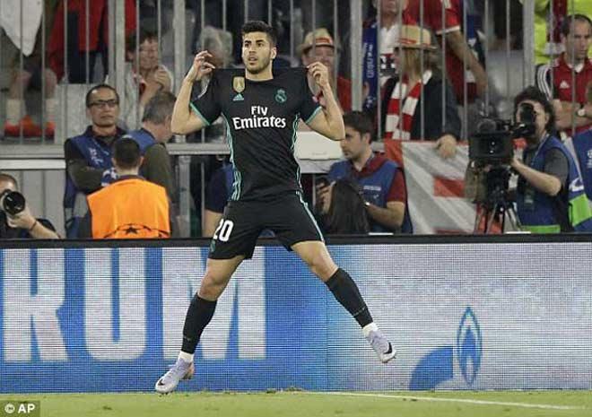 """Người thừa kế Ronaldo, Asensio 500 triệu euro tỏa sáng: """"Gà son"""" của Real - 1"""
