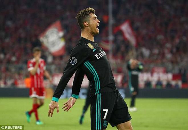 """Ronaldo """"tịt ngòi"""" vẫn phá siêu kỷ lục: Xứng danh """"Vua Cup C1"""" - 1"""