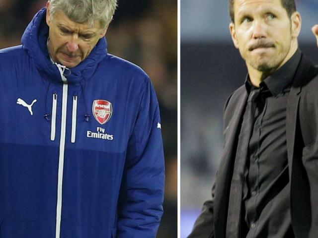 Arsenal hòa như thua Atletico: Wenger đau lòng, Simeone sướng rơn
