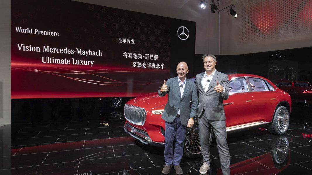 Mercedes-Maybach Vision Ultimate Luxury Concept siêu sang lộ diện - 1