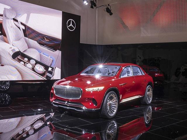 Mercedes-Maybach Vision Ultimate Luxury Concept siêu sang lộ diện