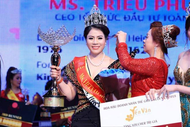 """Hoa hậu lập 17 công ty """"ma"""", mua bán hóa đơn ngàn tỉ - 1"""