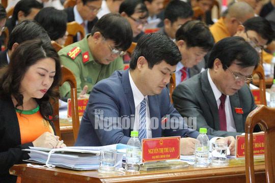 Ông Lê Phước Hoài Bảo vắng họp HĐND do bị ốm - 1
