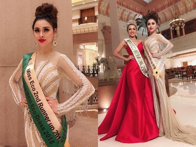 Bị chê tiếng Anh bập bẹ, Thư Dung vẫn đoạt Á hậu 2 Miss Eco International 2018