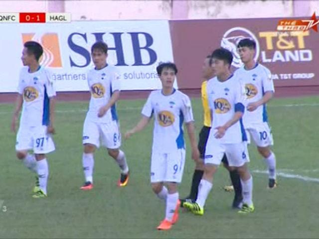 Quảng Nam - HAGL: Tưng bừng 5 bàn, 2 quả phạt đền ngược dòng