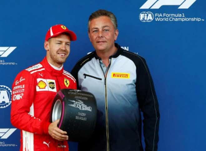 Đua xe F1, phân hạng Azerbaijan GP: Pole thứ 3 liên tiếp cho Vettel - 1