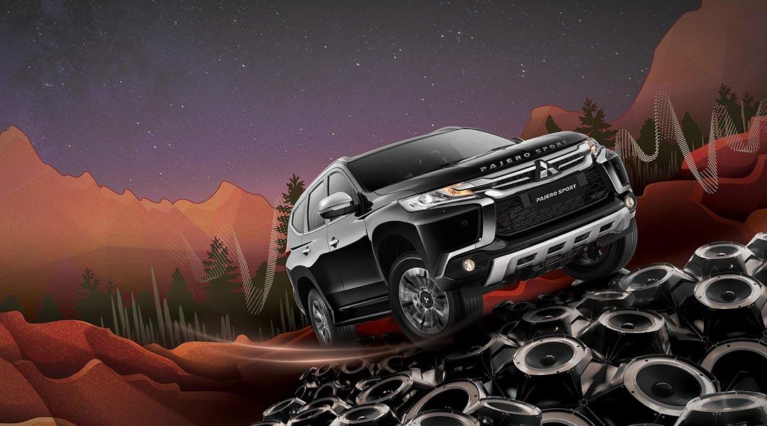 Mitsubishi Pajero Sport Rockford Fosgate: SUV 7 chỗ cho các ''tín đồ'' của âm thanh - 1