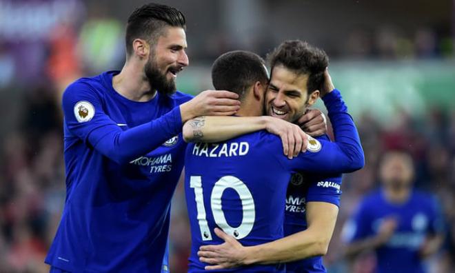 Swansea - Chelsea: Giằng co nghẹt thở, siêu phẩm định đoạt - 1