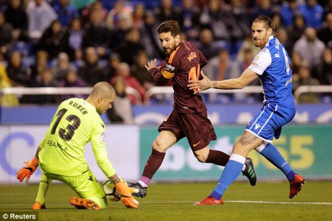 """Barca vô địch La Liga: Lập chùm kỷ lục, La Liga """"quỳ rạp"""" trước Messi - 1"""