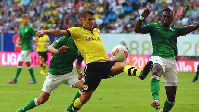 Werder Bremen - Dortmund: Đôi công mãn nhãn, 2 bàn may mắn - 1