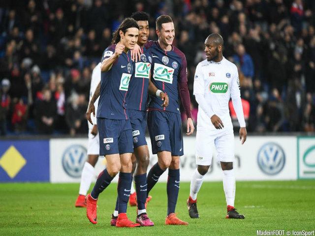 """PSG - Guingamp: """"Đại bác"""" kinh hoàng, nghẹt thở tới phút 90+6"""