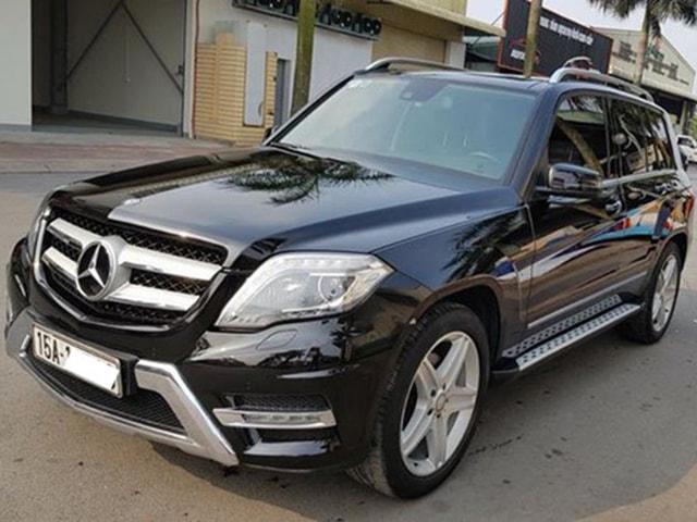 SUV hạng sang Mercedes-Benz GLK250 sau 3 năm sử dụng rao bán giá 1,38 tỷ đồng
