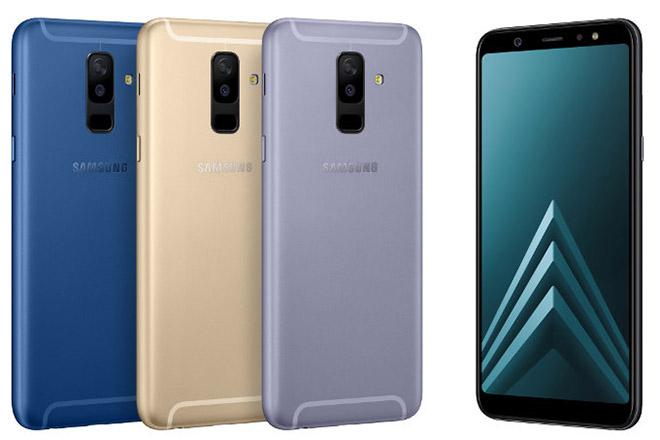 Samsung trình làng Galaxy A6 và A6+ trẻ trung, camera vượt trội - 1