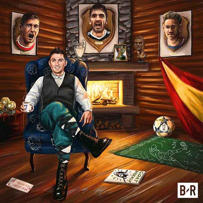 """Ronaldo, dũng sỹ diệt """"rồng"""": Neymar - Buffon - Lewandowski bội phục - 1"""
