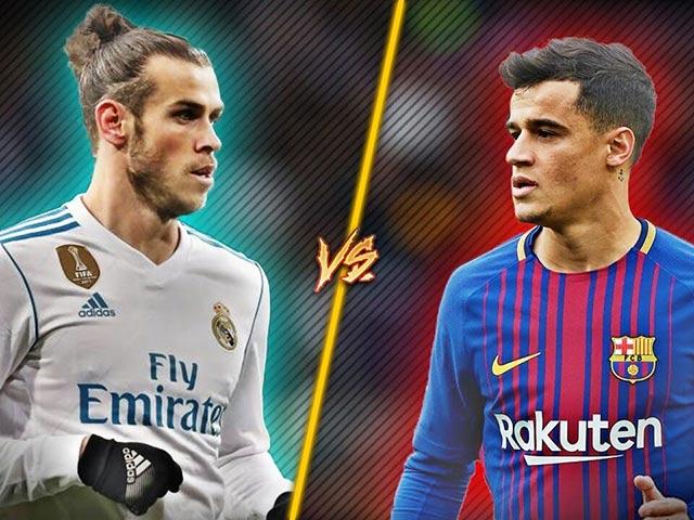 Bàn thắng đẹp vòng 35 La Liga: Bale ngả bàn đèn đọ Coutinho 160 triệu euro