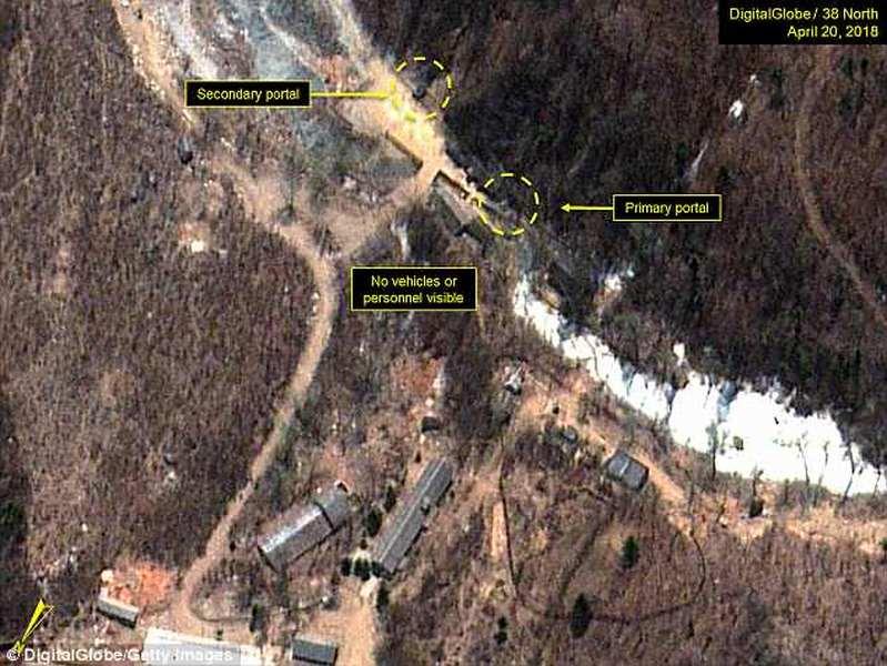 Hành động đầu tiên của Triều Tiên nhằm đóng cửa bãi thử hạt nhân - 1
