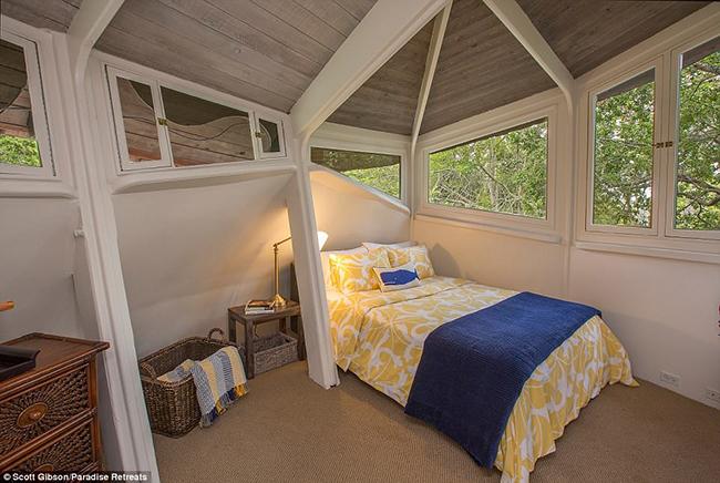 Một phòng ngủ nhỏ hơn trong khuôn viên