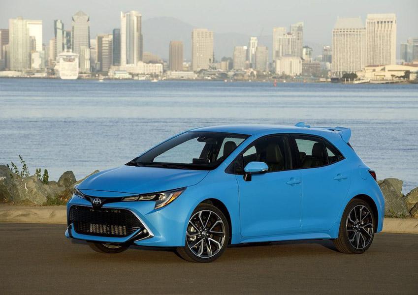 Ngắm Toyota Corolla 2019: Đối thủ của Honda Civic và Chevrolet Cruze hatchback - 1
