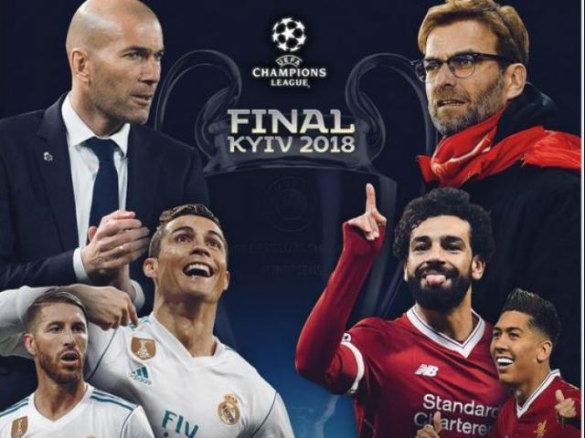 Tranh cúp C1 với Real: Klopp 6 chung kết thua 5, Liverpool lo ngay ngáy