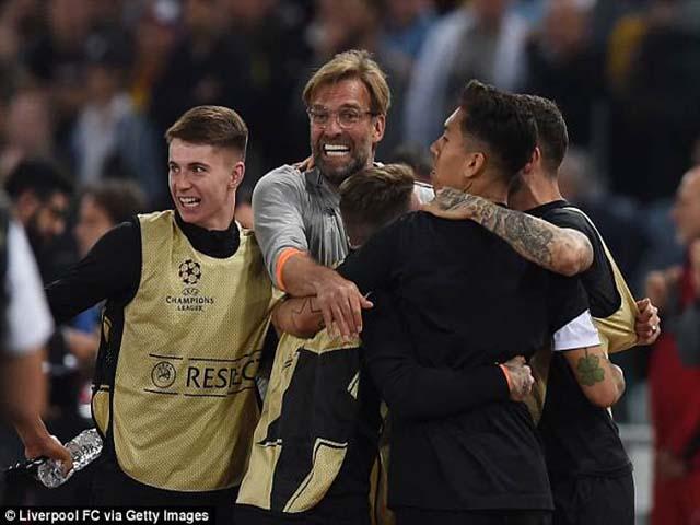 Liverpool thua sốc vẫn loại Roma: Klopp thừa nhận may mắn, lớn tiếng dọa Real