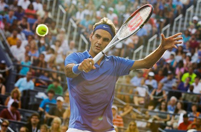 """Đẳng cấp """"Vua"""" Federer: Ngồi chơi cũng sẽ phá kỷ lục """"vô tiền khoáng hậu"""" - 1"""