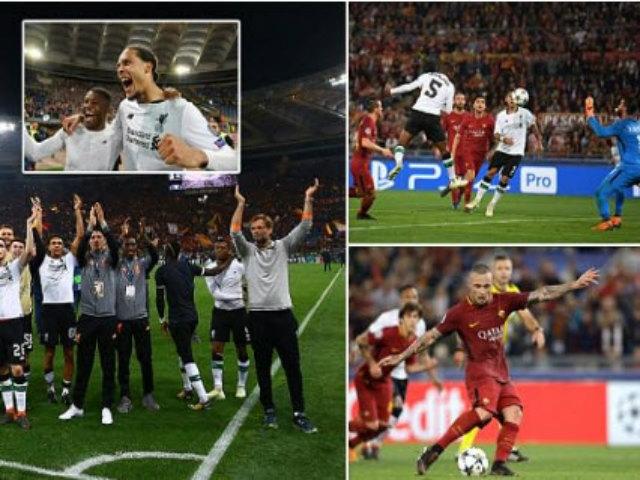 Góc chiến thuật AS Roma - Liverpool: Salah tệ 1, hàng thủ tệ 10