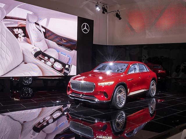 Bảng giá xe ôtô Mercedes-Benz Việt Nam cập nhật tháng 5/2018