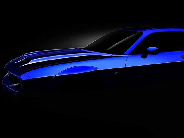 Hãng Dodge nhá hàng siêu xe ''quỷ dữ'' Challenger SRT phiên bản 2019
