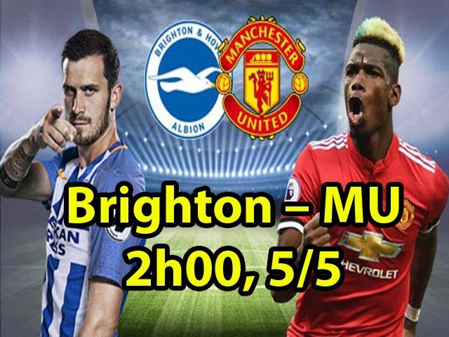 Nhận định bóng đá Brighton – MU: Pogba & Sanchez hưng phấn, Mourinho ra chiêu mới