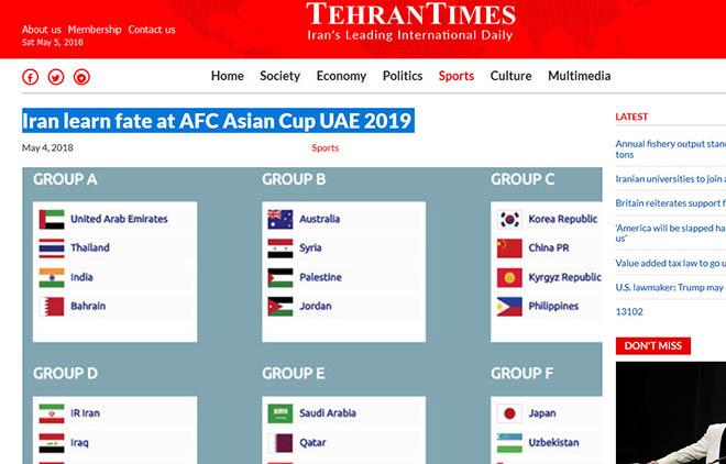 Asian Cup 2019: Mải đấu Iraq, báo Iran xem nhẹ ĐT Việt Nam - 1