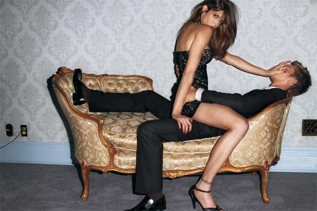 Stephanie Seymour là một trong những siêu mẫu thế hệ vàng son những năm 90.