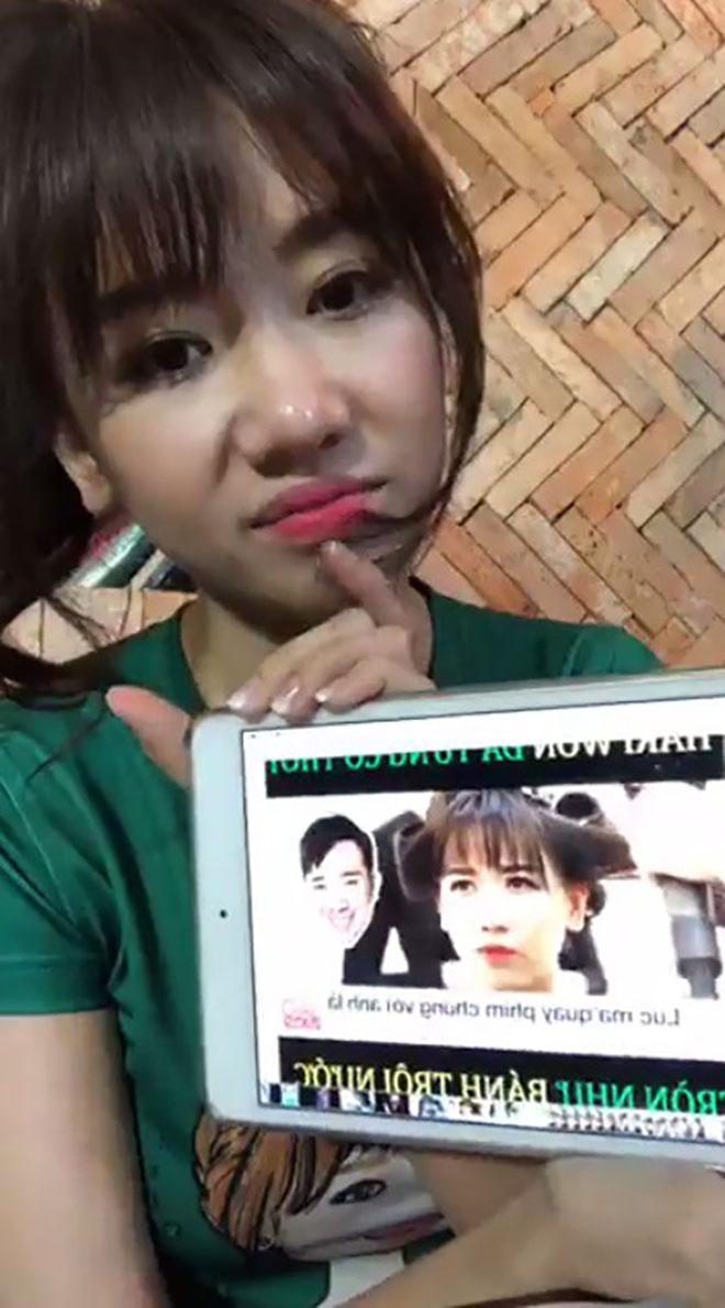 """Hari Won nói gì khi bị chế clip """"dìm"""" ngoại hình không thương tiếc? - 1"""