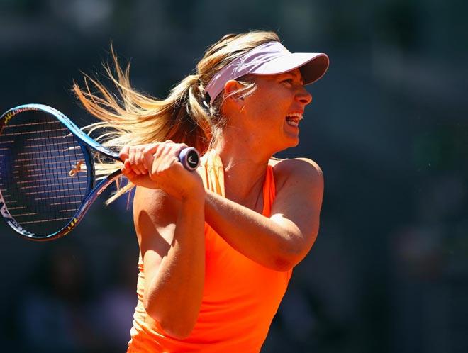 Sharapova - Buzarnescu: Đối thủ cứng đầu, bẻ khóa khéo léo - 1