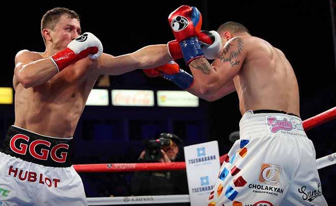 """Tin nóng võ thuật 6/5: Golovkin """"làm gỏi"""" Martirosyan, bảo vệ 2 đai - 1"""