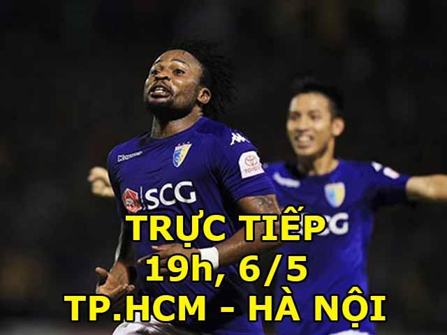TRỰC TIẾP bóng đá TP.HCM - Hà Nội: Quang Hải dự bị, khách siêu tấn công