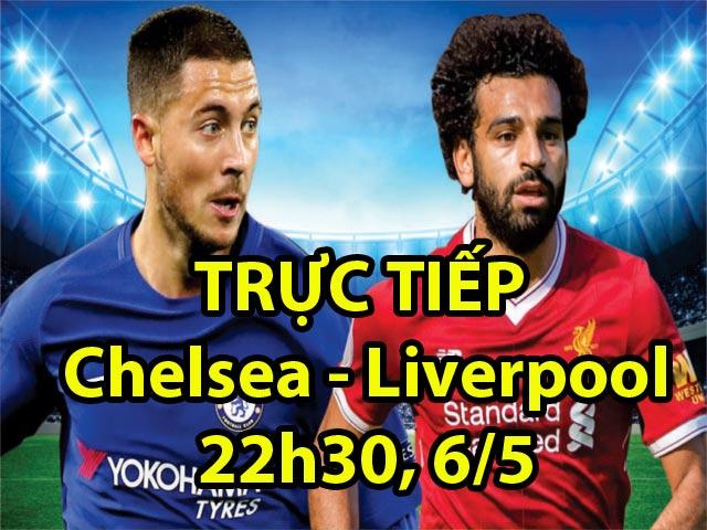 TRỰC TIẾP bóng đá Chelsea - Liverpool: Conte vượt trội Klopp