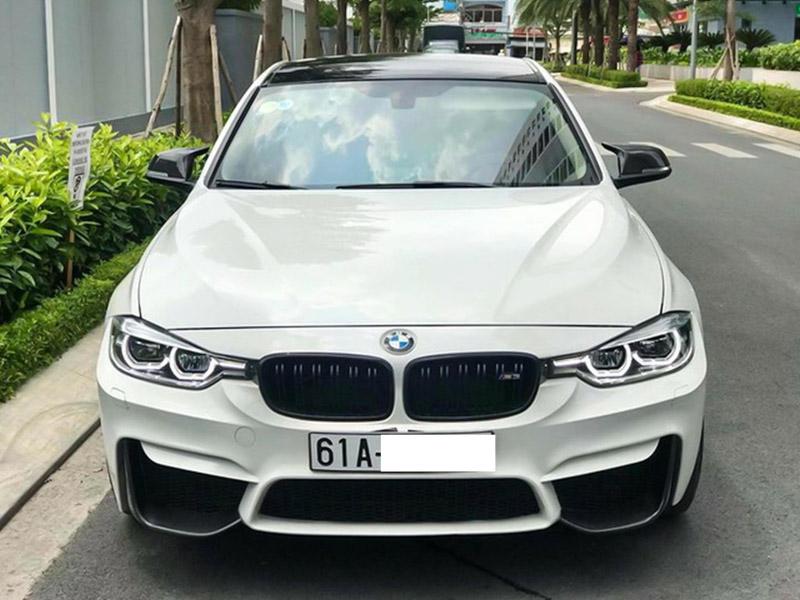 BMW 330i độ phong cách M3 hầm hố tại Bình Dương - 1
