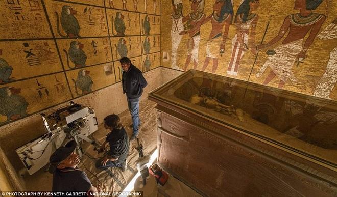 Sự thật về hầm bí mật trong lăng mộ 3.000 năm của hoàng đế Ai Cập - 1